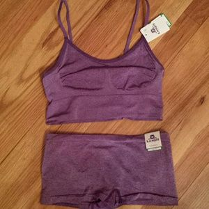 Other - Wacoal b tempted Bralette and Panties sz Large